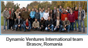 Dynamic Ventures International team in Brasov, Romania