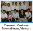 Dynamic Ventures Saomai team in Hanoi, Vietnam